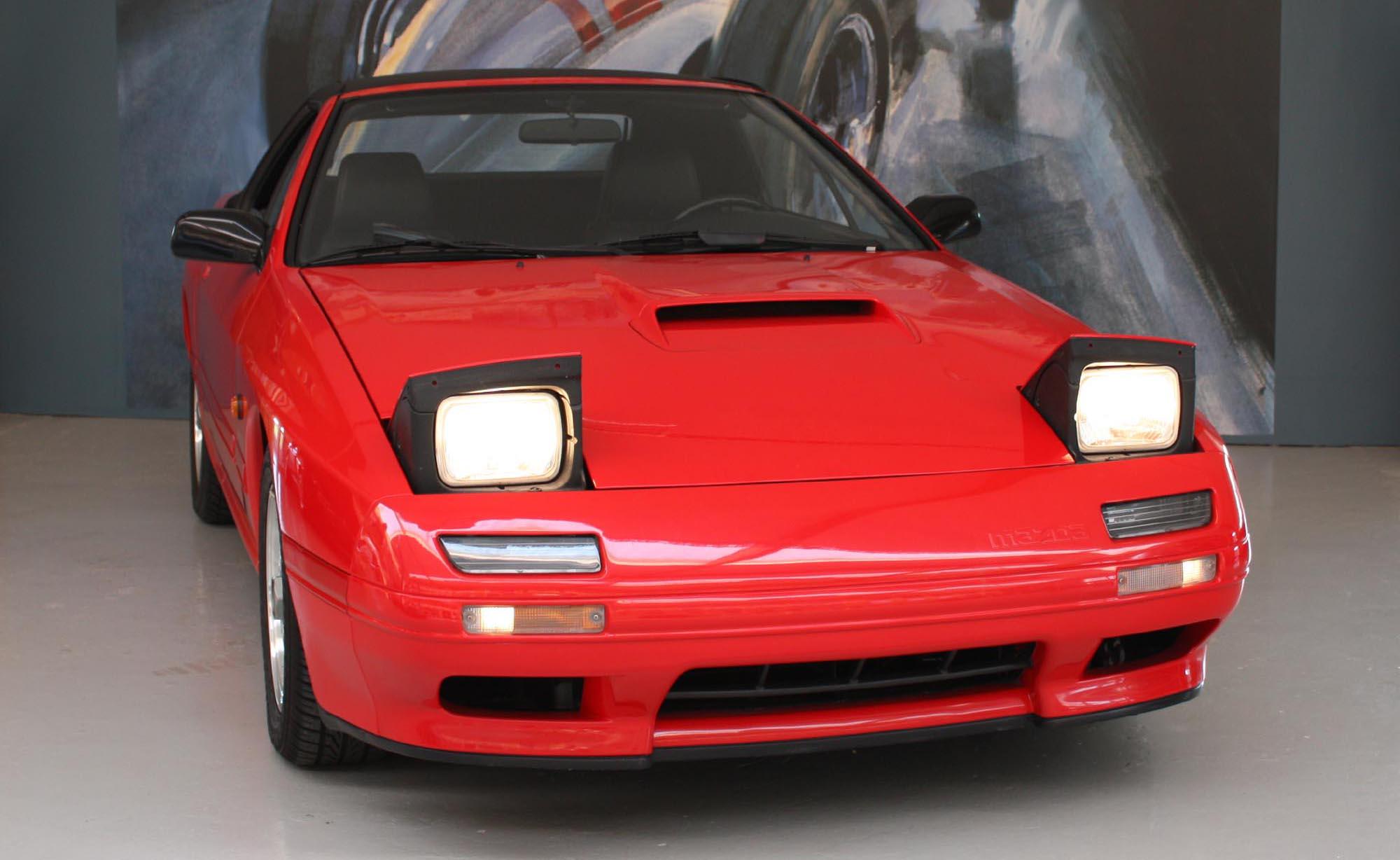 Mazda RX-7 Cabriolet til salg | Ollerup Biler